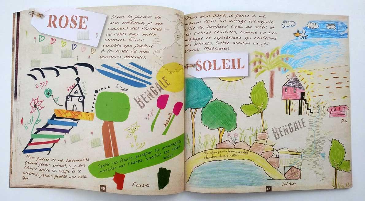 Création Livret Abécédaire Avignon Vaucluse par graficjooz